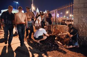 Mass Shooting in Las Vegas Kills More than 50 People