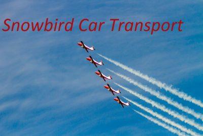 Snowbird Car Transport