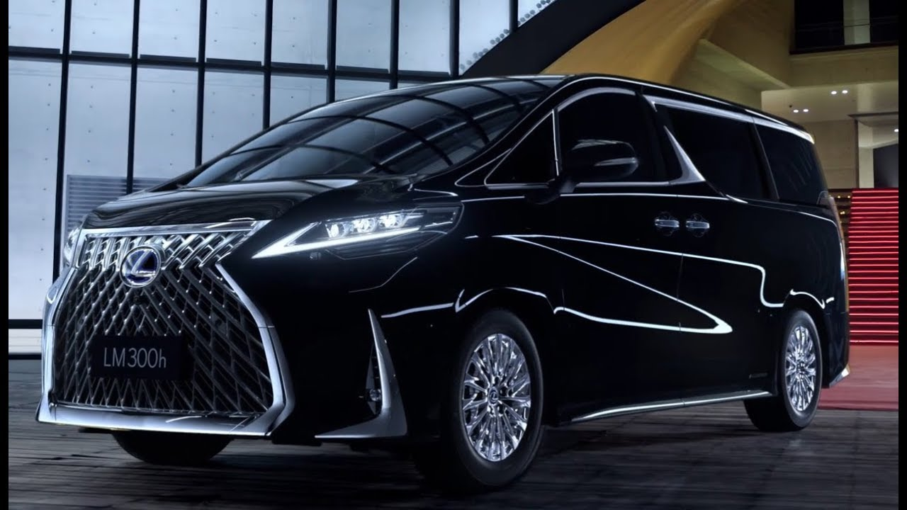 Lexus debuts strange new minivan
