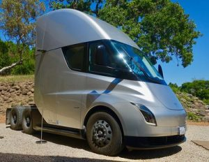 Electric Semi Mandate Changes California