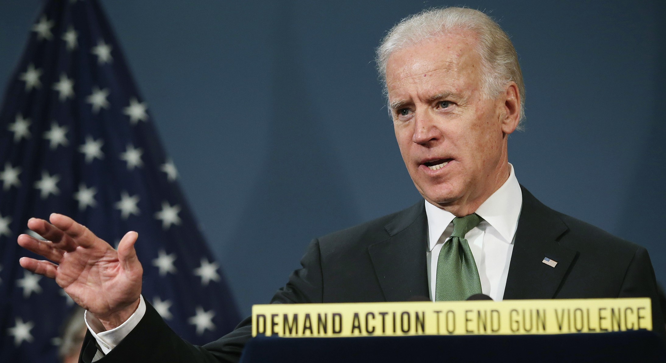 Joe Biden Takes on the Task of Responding to Gun Violence